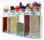 herbs-in-colored-jars