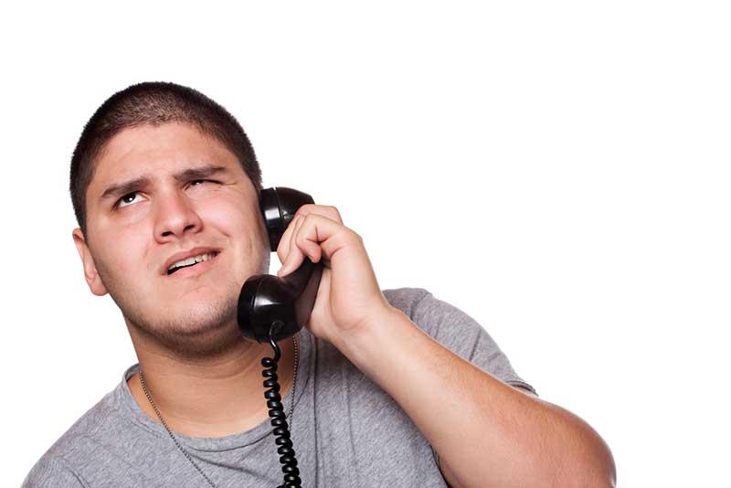 man-call